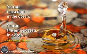 Drop - Molana Jalal Ud Din Rumi