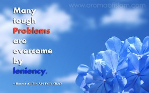 Leniency - Hazrat Ali Bin Abi Talib (R.A)